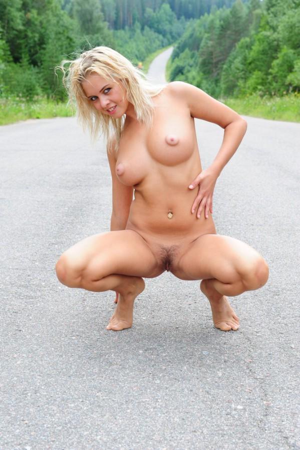 posing outdoor